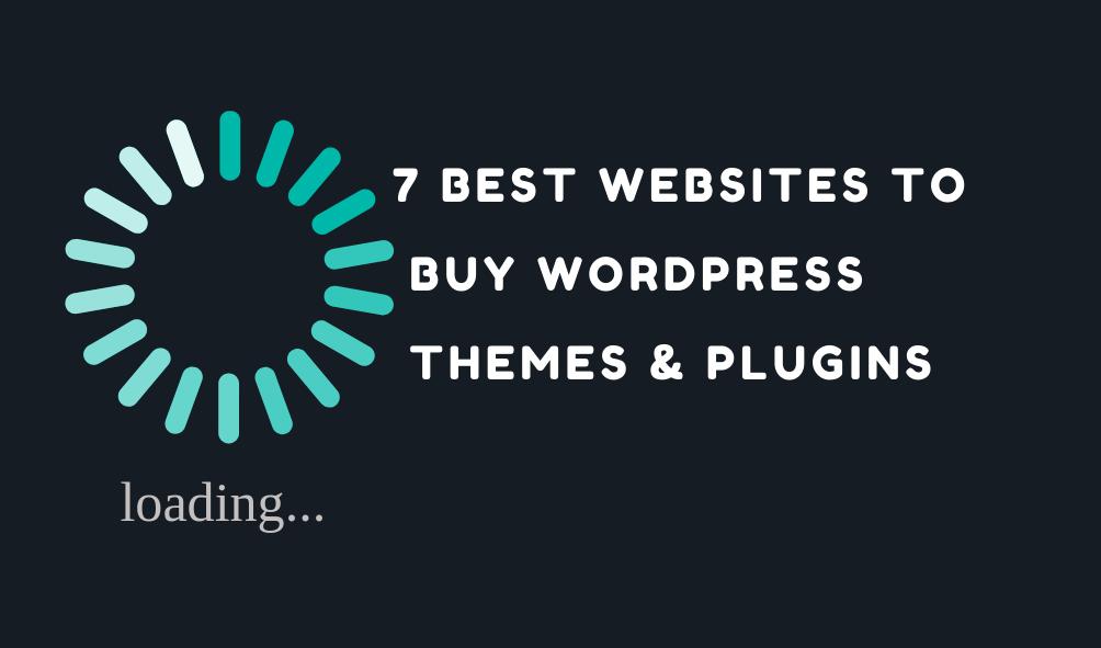 7 Best websites to buy WordPress themes
