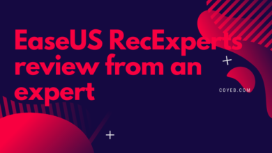 EaseUS RecExperts review from an expert (1)
