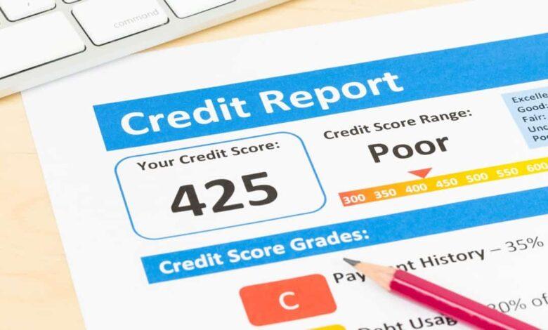 Poor Credit Scores